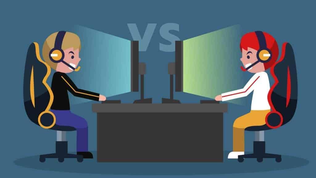 gamer vs gamer