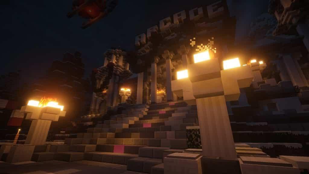 Minecraft arcade