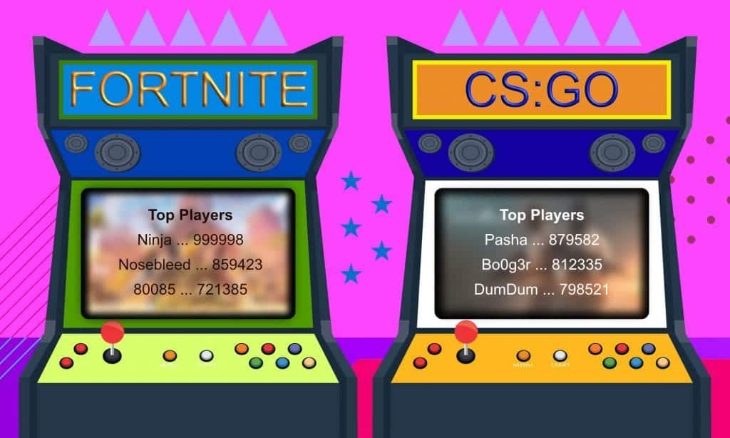 arcade name gamertag