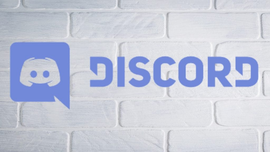 discord logo writing