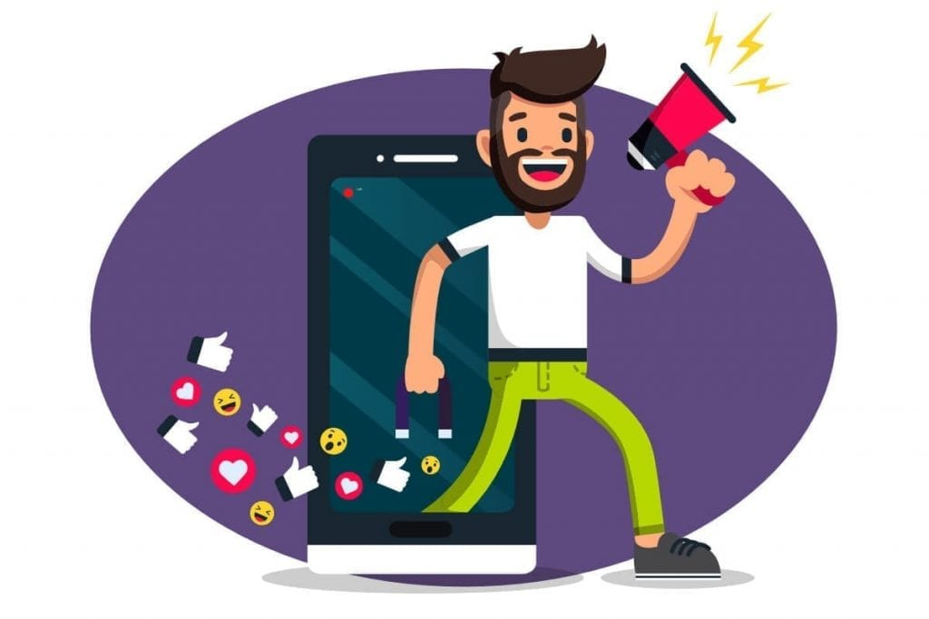 social media magnet marketer