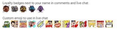 Avxry youtube gaming emotes