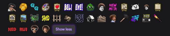 Bob Ross Emotes