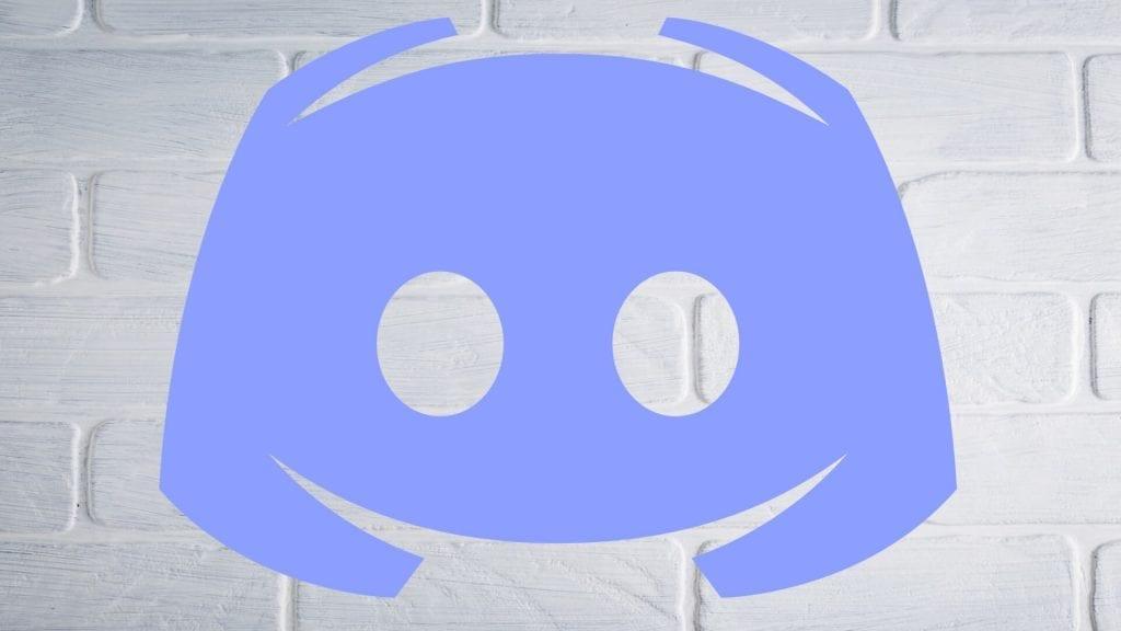 Discord on white wall