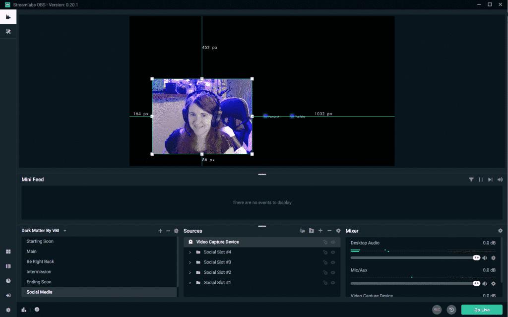 Streamlabs Obs crop webcam