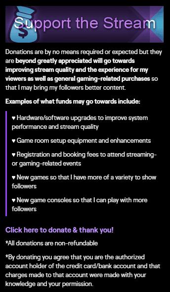 Support stream thatgirlslays