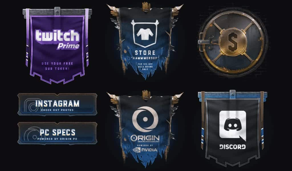 Towelliee twitch panels