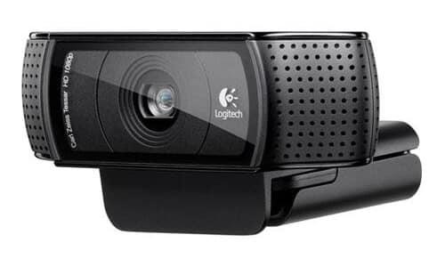 Logitech-HD-C920 camera