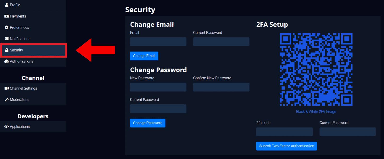 glimesh security