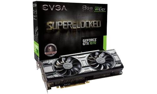 EVGA GeForce gtx 1070 gpu