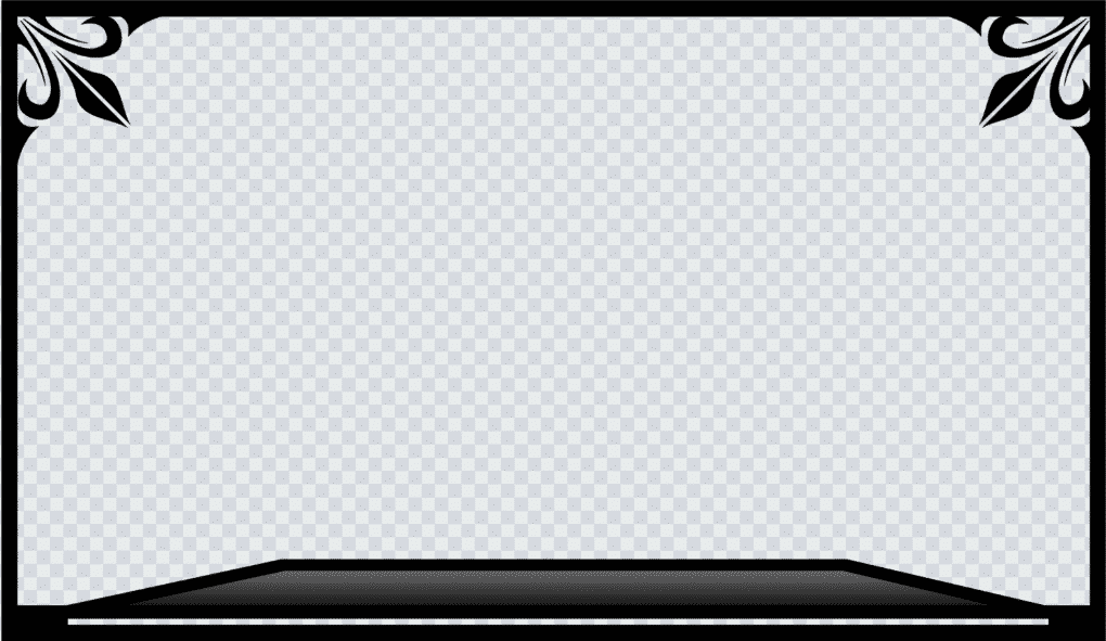 black camera border