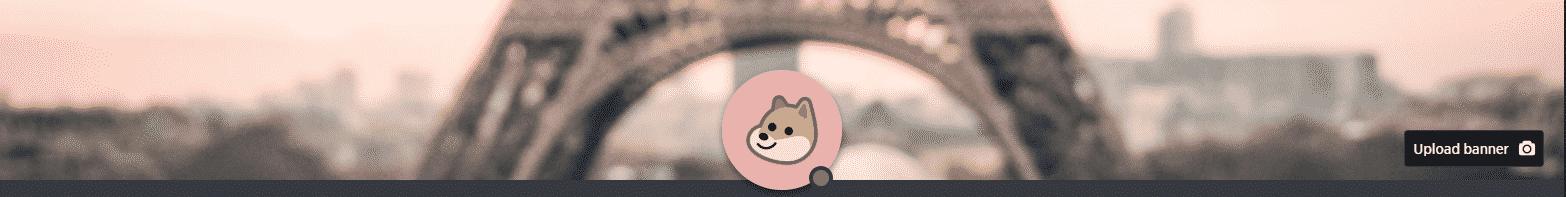 guilded - custom profile picture