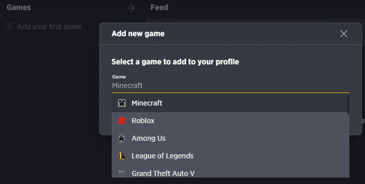 guilded add new game