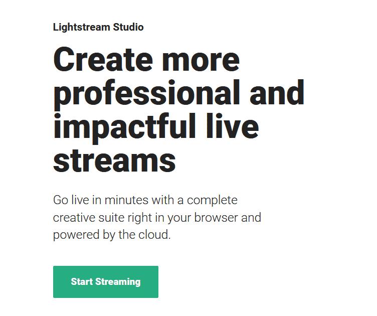 lightstream studio