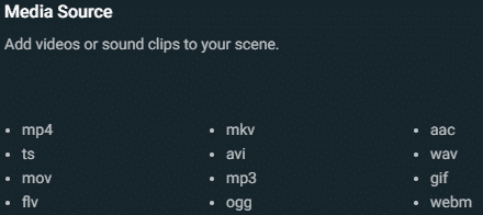 streamlabs obs media source