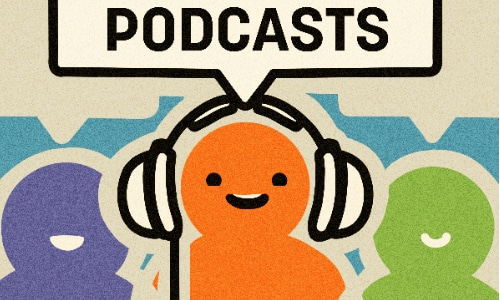 talk shows and podcasts