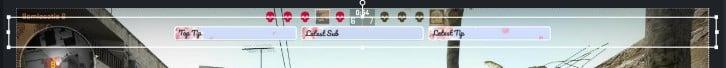 gamecaster upload top bar