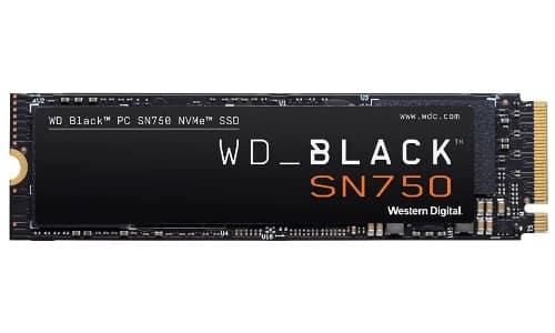 WD_Black SN750 1TB NVMe Internal Gaming