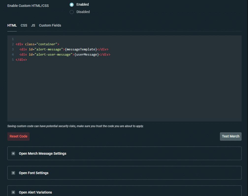 streamlabs Alertbox settings 2