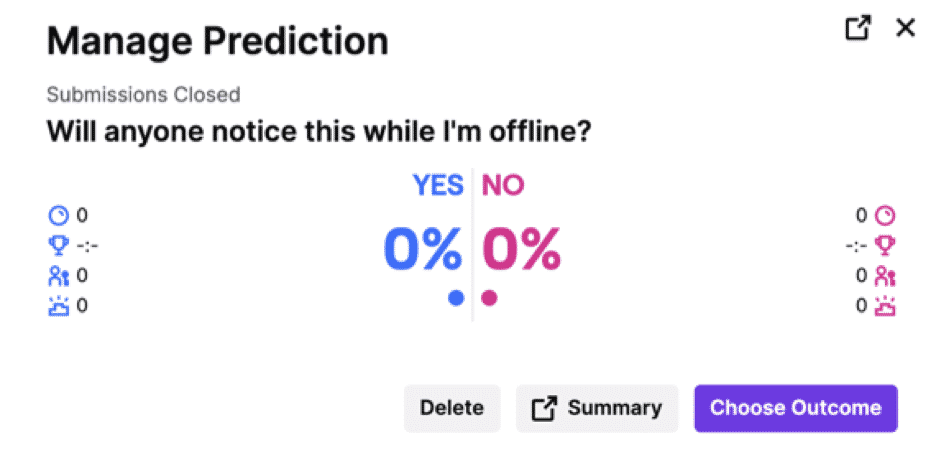 twitch manage prediction