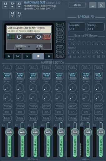 voicemeeter potato hardware out