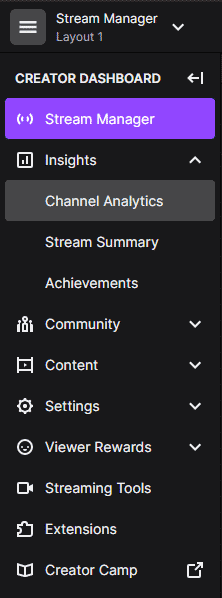 twitch stream manager